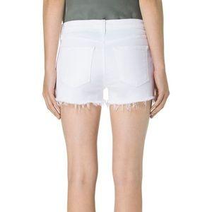 NWT J Brand 1044 Denim Shorts, ( White) 27